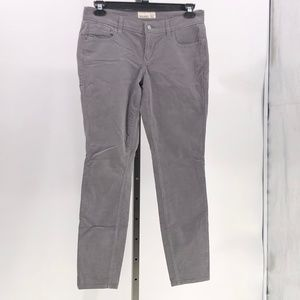 😍 old navy gray corduroy jeans size 12